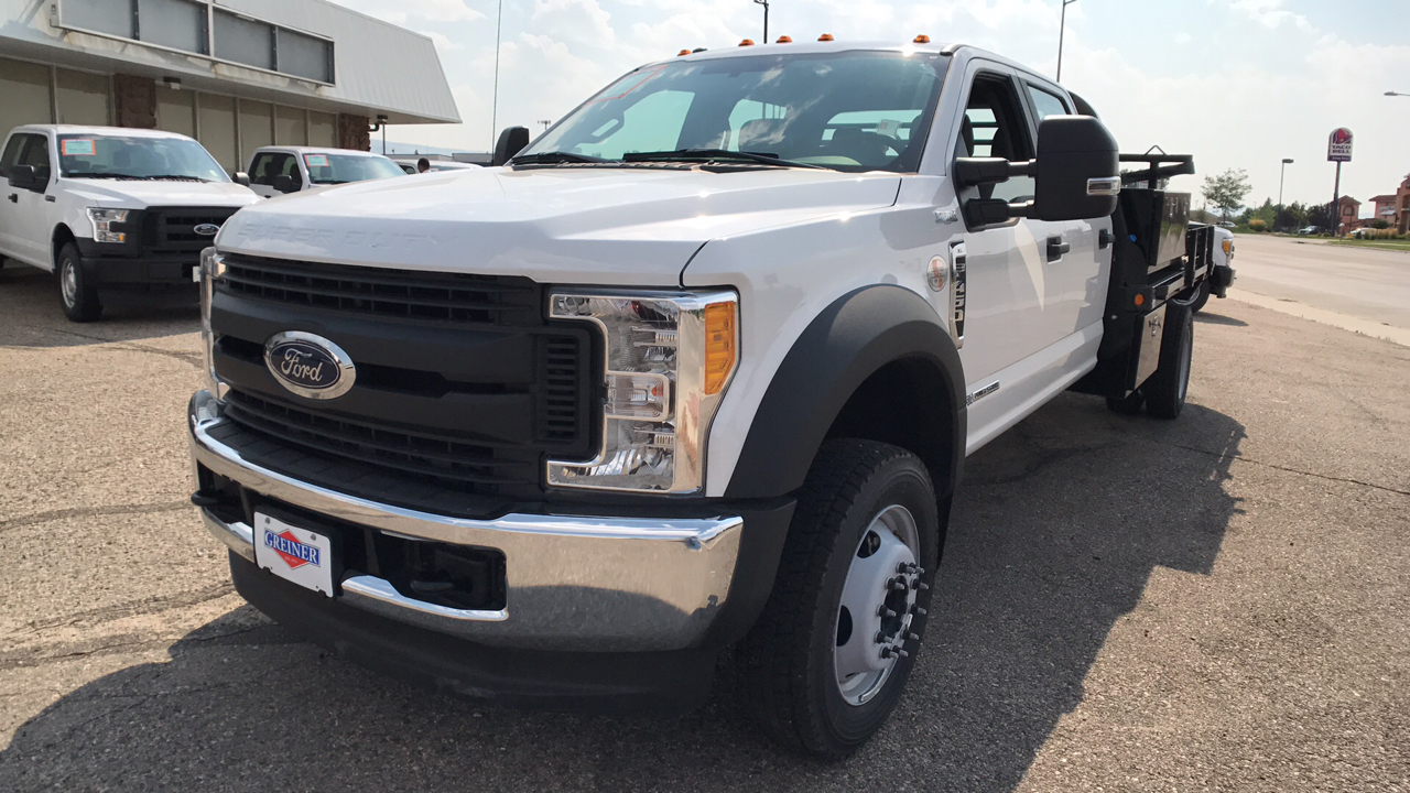 2017 F-450 Crew Cab DRW 4x4, Freedom Platform Body #HEC04051 - photo 7