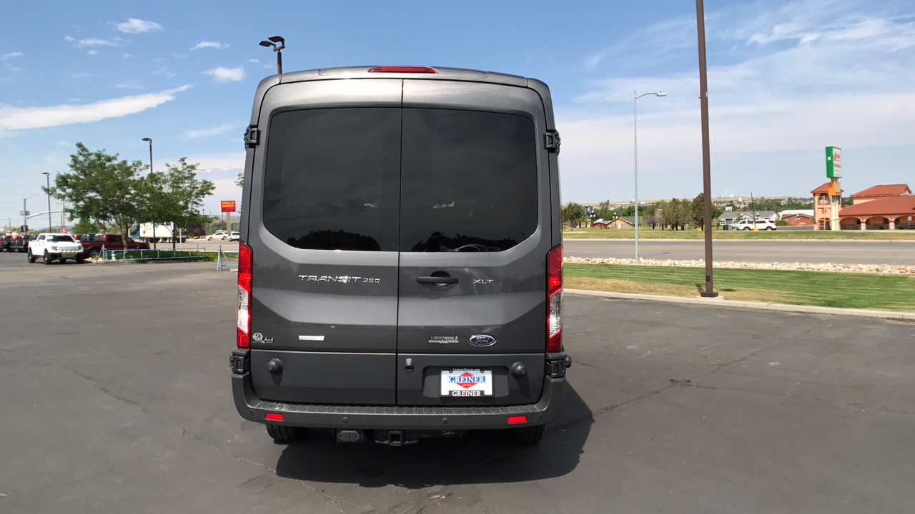 2017 Transit 350 Medium Roof, Passenger Wagon #HKA80844 - photo 4