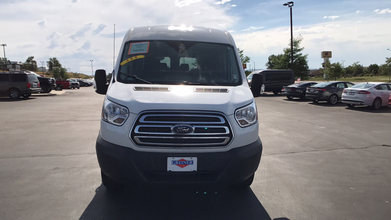 2017 Transit 350 Medium Roof, Passenger Wagon #HKA86533 - photo 8