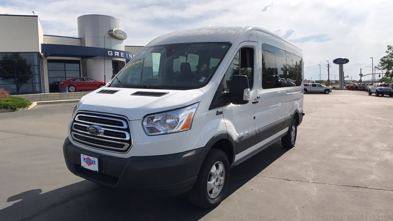 2017 Transit 350 Medium Roof, Passenger Wagon #HKA86533 - photo 7
