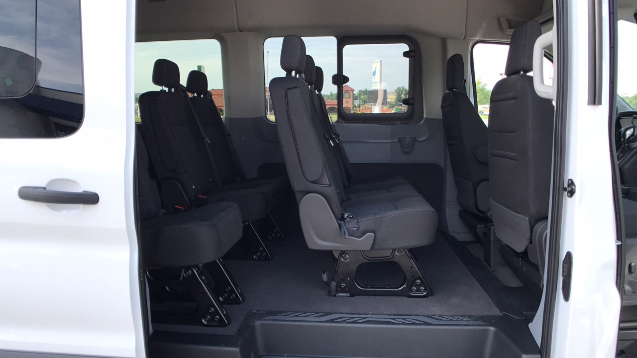 2017 Transit 350 Medium Roof, Passenger Wagon #HKA86533 - photo 14