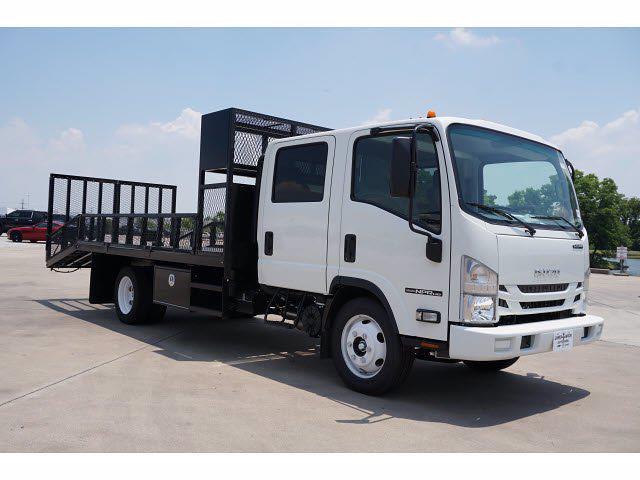 2021 Isuzu NPR-HD 4x2, RhinoPro Truck Outfitters Dovetail Landscape #212738 - photo 4