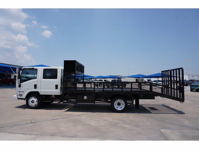 2021 Isuzu NPR-HD 4x2, RhinoPro Truck Outfitters Dovetail Landscape #212738 - photo 8