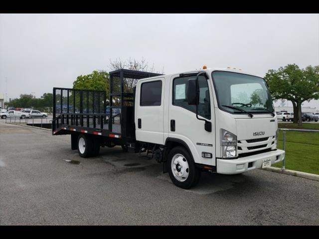 2019 Isuzu NPR-HD Crew Cab 4x2, Kaffenbarger Truck Equipment Dovetail Landscape #293530 - photo 1