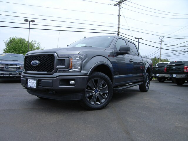 2018 F-150 SuperCrew Cab 4x4,  Pickup #53993A - photo 1