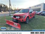 2018 F-150 Super Cab 4x4,  Western Snowplow Pickup #54056 - photo 1