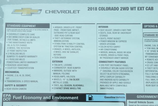 2018 Colorado Extended Cab 4x2,  Pickup #T8570 - photo 25