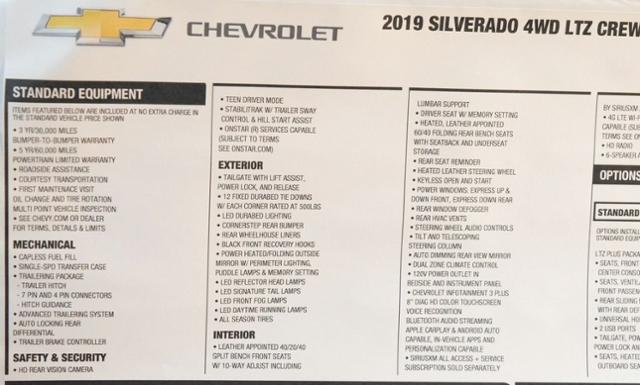 2019 Silverado 1500 Crew Cab 4x4,  Pickup #T9052 - photo 33