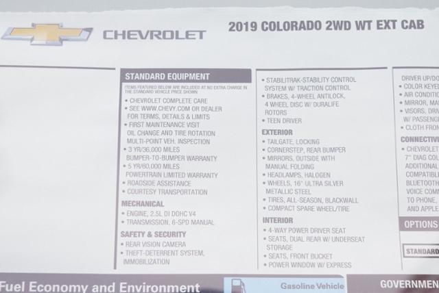 2019 Colorado Extended Cab 4x2,  Pickup #T9062 - photo 28