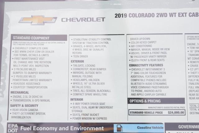 2019 Colorado Extended Cab 4x2,  Pickup #T9082 - photo 27