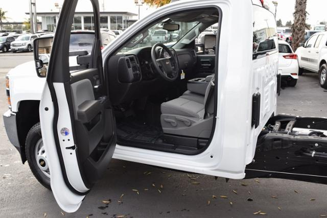 2019 Silverado 3500 Regular Cab DRW 4x4,  Cab Chassis #T9091 - photo 8