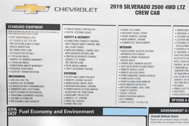 2019 Silverado 2500 Crew Cab 4x4,  Pickup #T9116 - photo 31