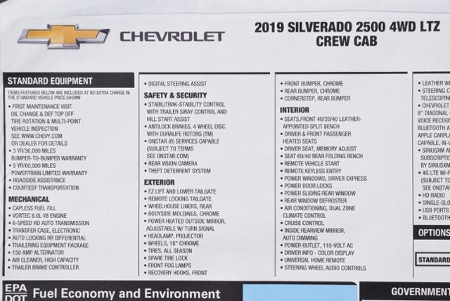 2019 Silverado 2500 Crew Cab 4x4,  Pickup #T9125 - photo 33