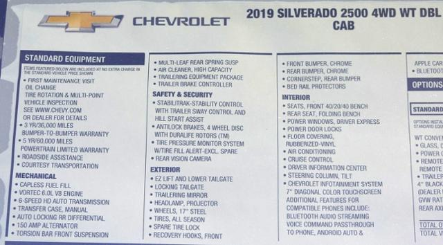 2019 Silverado 2500 Double Cab 4x4,  Pickup #T9181 - photo 31