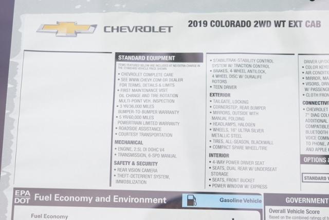 2019 Colorado Extended Cab 4x2,  Pickup #T9183 - photo 28