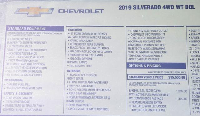 2019 Silverado 1500 Double Cab 4x4,  Pickup #T9187 - photo 30