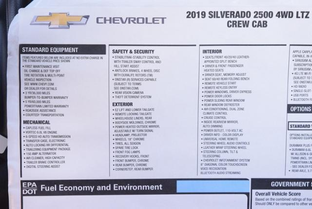 2019 Silverado 2500 Crew Cab 4x4,  Pickup #T9209 - photo 32