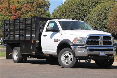 2017 Ram 4500 Regular Cab DRW, Knapheide Value-Master X Stake Bed #N5281 - photo 3