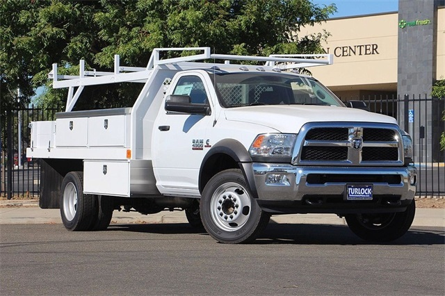 2018 Ram 4500 Regular Cab DRW 4x2,  Harbor Contractor Body #N6238 - photo 3