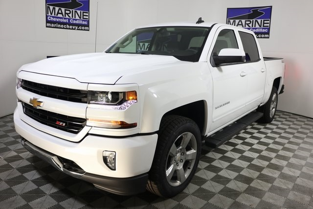 2018 Silverado 1500 Crew Cab 4x4 Pickup Stock It1023