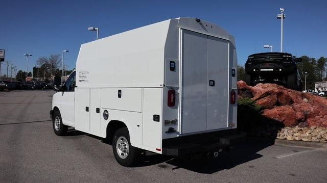 2019 Chevrolet Express 3500 4x2, Knapheide Service Utility Van #JC216 - photo 1