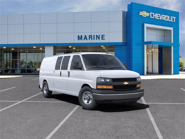 2021 Chevrolet Express 2500 4x2, Sortimo Upfitted Cargo Van #LC118 - photo 1