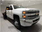 2017 Silverado 3500 Crew Cab 4x4, Platform Body #16305 - photo 1