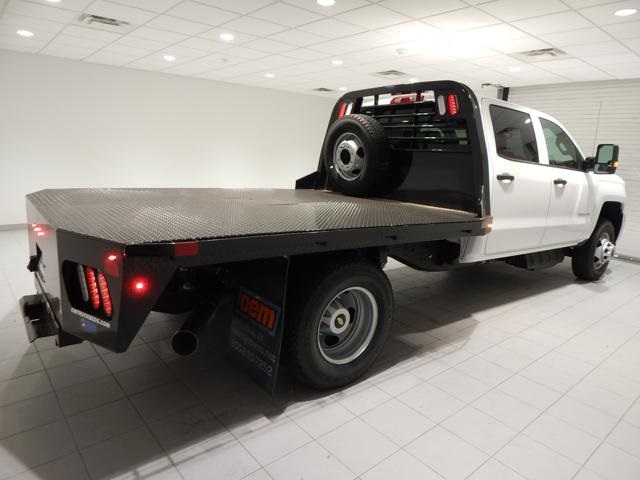 2017 Silverado 3500 Crew Cab 4x4, Platform Body #17310 - photo 2