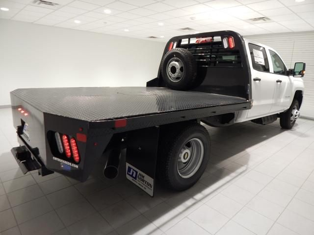 2018 Silverado 3500 Crew Cab 4x4, Platform Body #17451 - photo 2