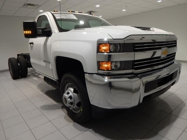 2018 Silverado 3500 Regular Cab 4x4 Cab Chassis #17501 - photo 1