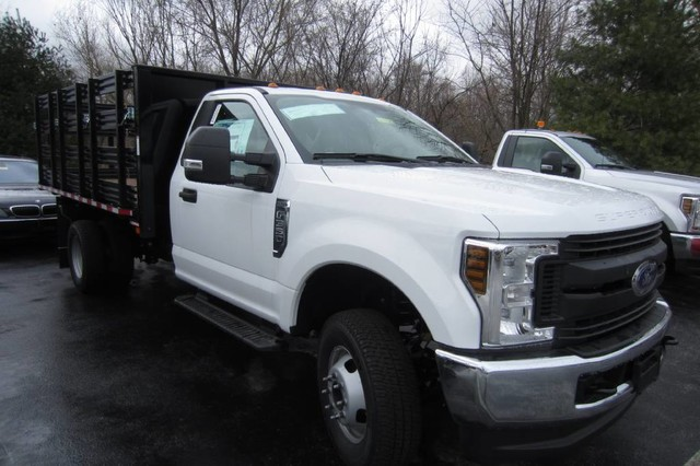 2018 F-350 Regular Cab DRW 4x4, Morgan Prostake Stake Bed #218325T - photo 4