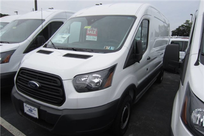 2018 Transit 250 Med Roof 4x2,  Weather Guard Upfitted Cargo Van #218537T - photo 1