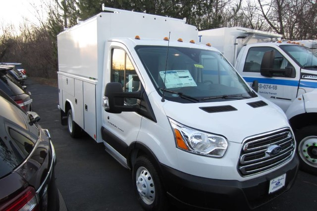 2019 Transit 350 HD DRW 4x2,  Reading Service Utility Van #219111T - photo 3