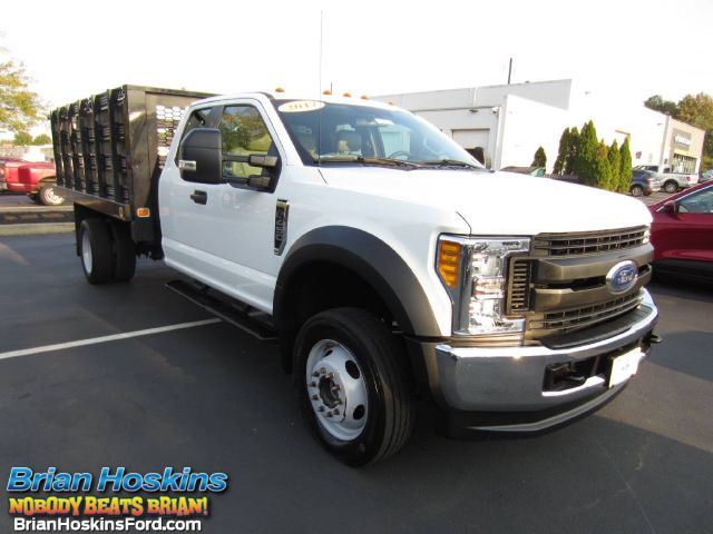 2017 Ford F-450 Super Cab DRW 4x4, Knapheide Stake Bed #220336A - photo 1