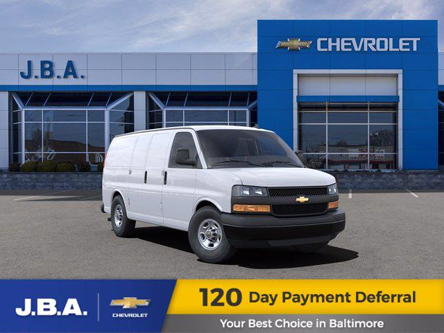 2021 Chevrolet Express 3500 4x2, Empty Cargo Van #15548 - photo 1