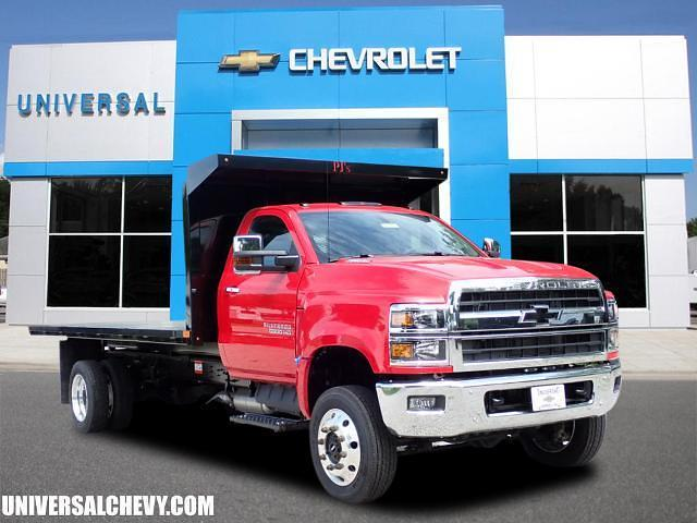2019 Chevrolet Silverado 5500 Regular Cab DRW 4x4, PJ's Platform Body #2053 - photo 1