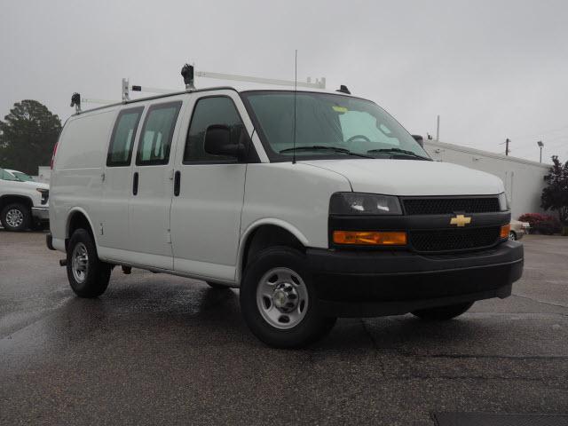 2020 Express 3500 4x2, Sortimo Upfitted Cargo Van #2551 - photo 1