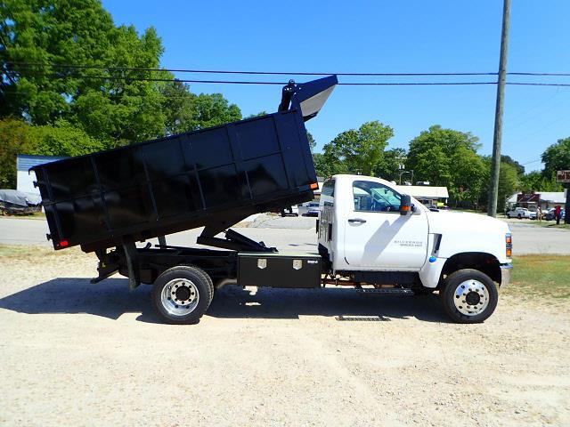 2020 Silverado 5500 Regular Cab DRW 4x4,  PJ's Truck Bodies Landscape Dump #3332 - photo 7