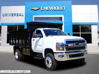 2020 Silverado 5500 Regular Cab DRW 4x4,  PJ's Truck Bodies Landscape Dump #3332 - photo 1