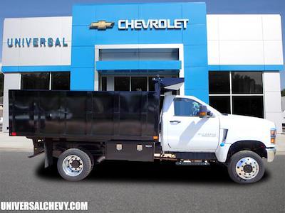 2020 Silverado 5500 Regular Cab DRW 4x4,  PJ's Truck Bodies Landscape Dump #3332 - photo 3
