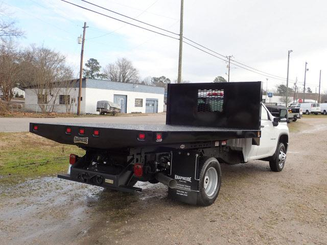 2020 Chevrolet Silverado 3500 Regular Cab DRW 4x4, Knapheide Platform Body #3458 - photo 1
