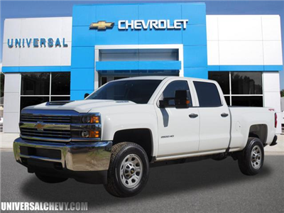 2018 Silverado 2500 Crew Cab 4x4,  Pickup #9595 - photo 1