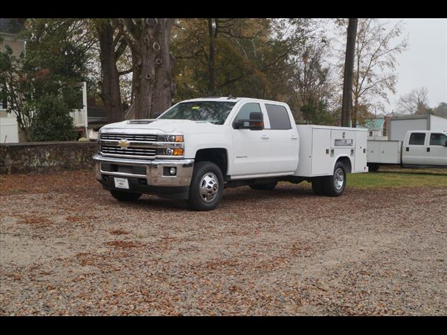 2018 Silverado 3500 Crew Cab DRW 4x4,  Reading SL Service Body #9761 - photo 1