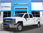 2018 Silverado 2500 Crew Cab 4x2,  Reading SL Service Body #9791 - photo 1