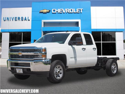 2018 Silverado 2500 Double Cab 4x4,  Cab Chassis #9823 - photo 1