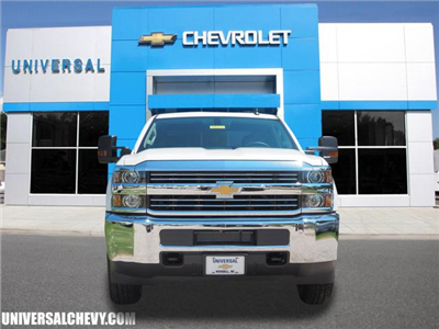 2018 Silverado 2500 Double Cab 4x4,  Cab Chassis #9823 - photo 3