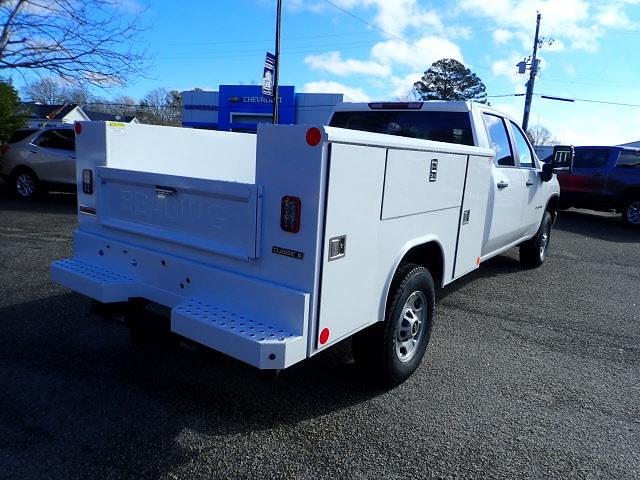 2021 Chevrolet Silverado 2500 Crew Cab 4x4, Reading Service Body #DT3594 - photo 1