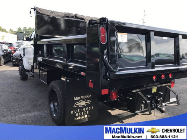 2019 Silverado Medium Duty Regular Cab DRW 4x4,  Rugby Dump Body #T11541 - photo 1