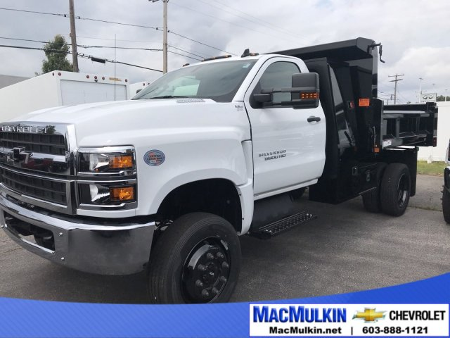 2019 Silverado Medium Duty Regular Cab DRW 4x4,  Rugby Dump Body #T11610 - photo 1