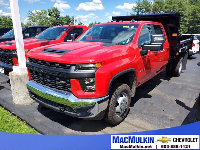 2020 Chevrolet Silverado 3500 Crew Cab DRW 4x4, Rugby Dump Body #T13737 - photo 1